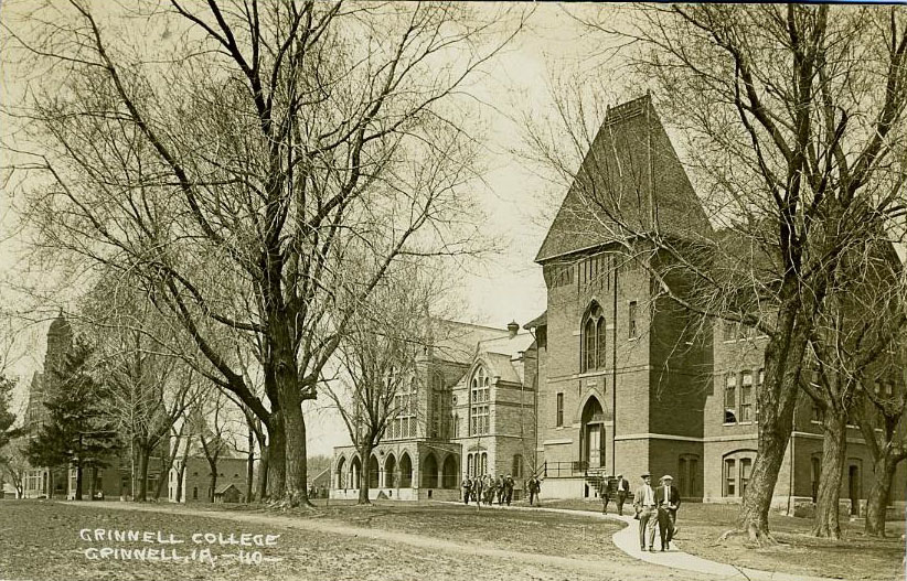 Chicago Hall, Blair Hall, and Alumni Hall in 1913