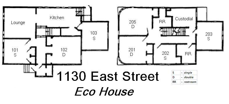 eco house floor plan grinnell college