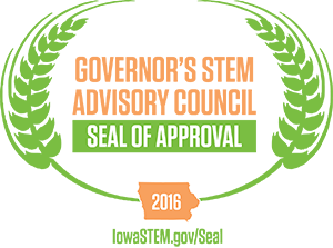 2016 Iowa Governor's STEM Advisory Council Seal of Approval