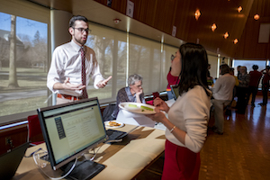 Alex Claycomb '18 presents a project that digitally visualizes and maps the early modern Spanish Empire.
