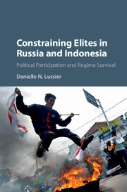 Constraining Elites in Russia and Indonesia: Political Participation and Regime Survival