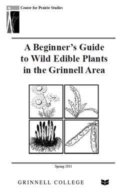 Cover of A Beginner's Guide to Wild Edible Plants in the Grinnell Area
