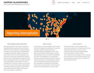 Mapping Islamophobia website image