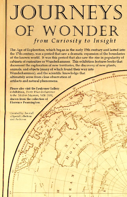 Journeys of Wonder brochure cover