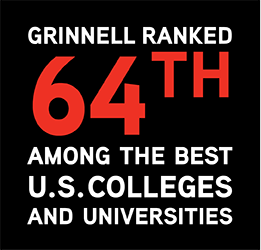 Forbes ranked Grinnell 64th amonth the best U.S. colleges and universities