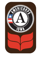 Grinnell College Iowa AmeriCorps logo