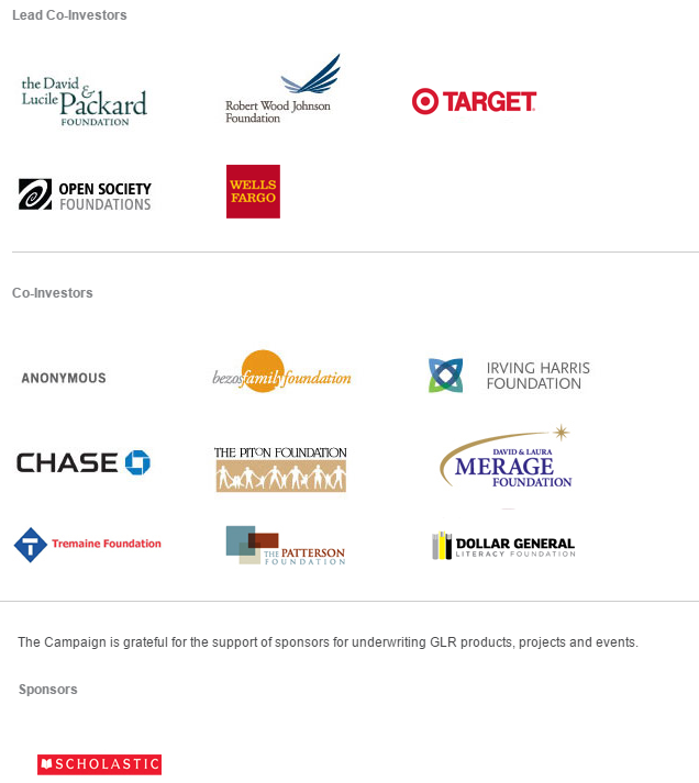 sponsor and investor logos (see web page for list)