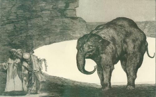 Francisco Goya, Otras Leyes por el Pueblo, published 1877. Aquatint, etching and drypoint on paper. Purchased, the Marie-Louise and Samuel R. Rosenthal Fund.