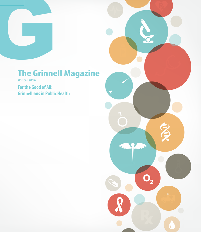 Cover of The Grinnell Magazine Winter 2014