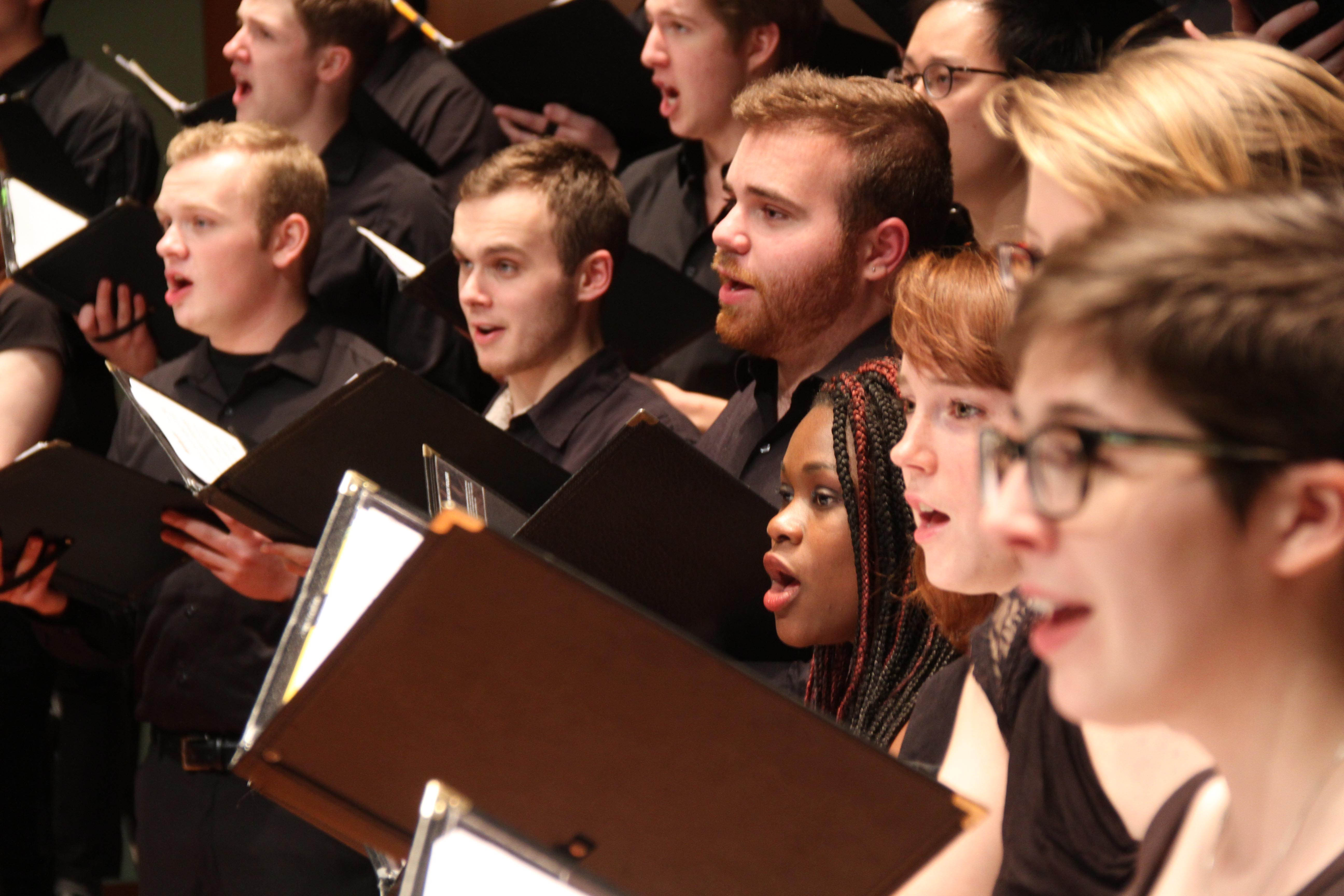 Members of the Grinnell Singers