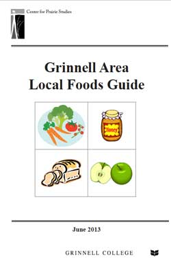 Cover of Grinnell Area Local Foods Guide
