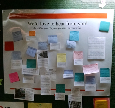 Burling Library Questions and Comment Board