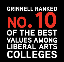 Kiplinger's ranked Grinnell 10th in best value among liberal arts colleges