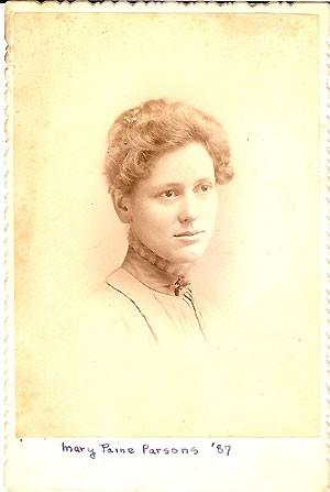 Mary Ellen Paine Parsons 1887
