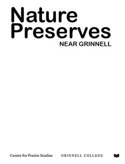 Cover of Nature Preserves Near Grinnell