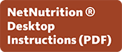 NetNutrition Desktop Instructions