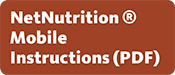 NetNutrition Mobile Instructions