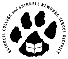 Grinnell College and Grinnell High School Partners Logo