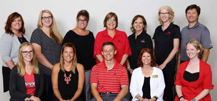 Grinnell College Student Health and Counseling Services Staff 2017-18
