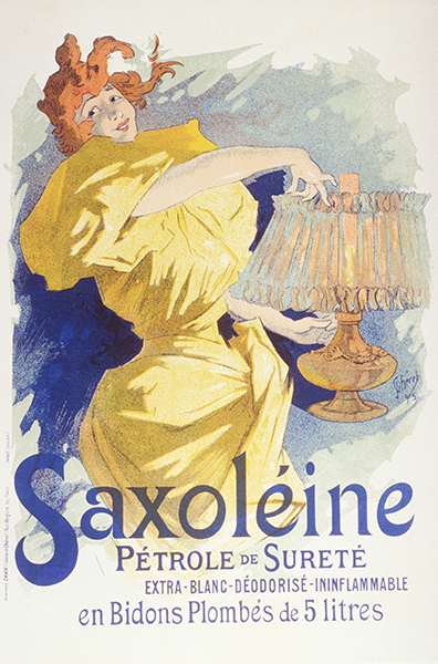 Saxoleine, poster by Jules Cheret, 1896