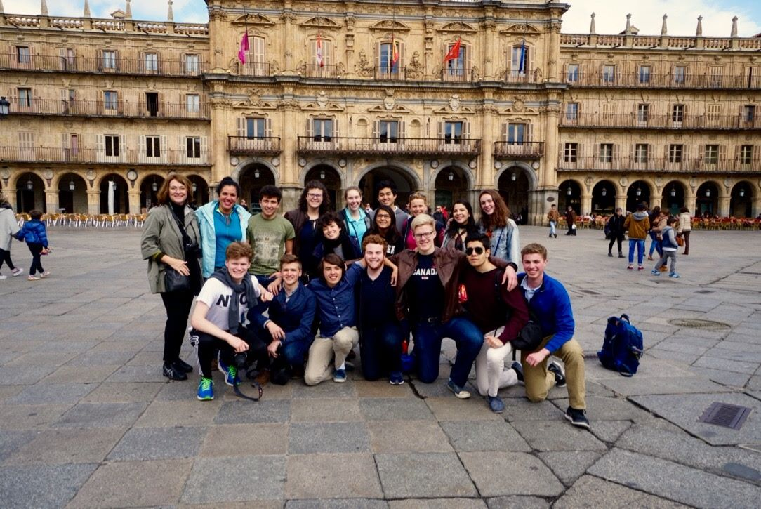 Global Learning Program touring Spain to study liberal education in the old world