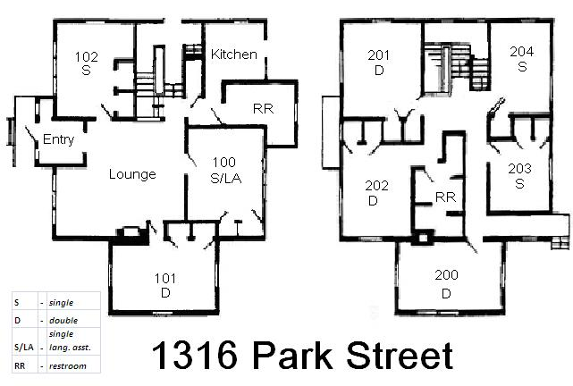 Spanish House Floorplan