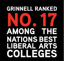 U.S. News ranked Grinnell 17th among the nation's best liberal arts colleges