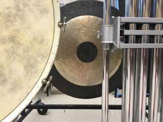 Various instruments used in Percussion Ensemble