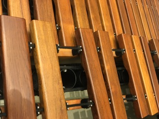 up close image of marimba
