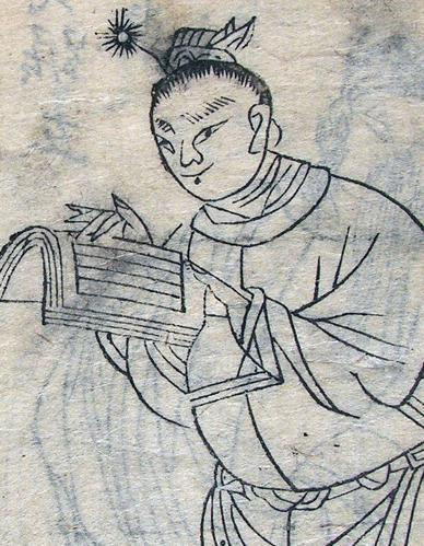 Xiuxiang Han Song qishu: Sanguo Shuihu hezhuan (Marvelous tales of the Han and Song, illustrated: A combined edition of Three Kingdoms and The Water Margin). Ed. Jin Shengtan. N.p.: Wubentang, 1800s (detail). Collection C. V. Starr East Asian Library, Uni