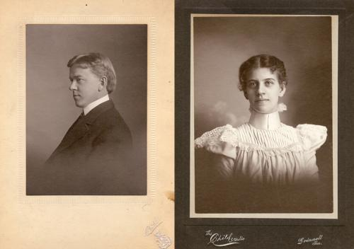 Benjamin and Mabel Ricker