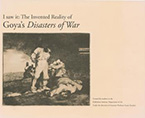 Goya's Disasters of War cover