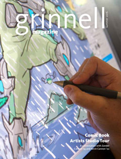 Cover of The Grinnell Magazine Summer 2016