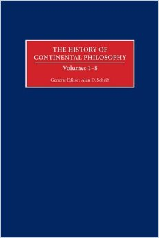 The History of Continental Philosophy book cover