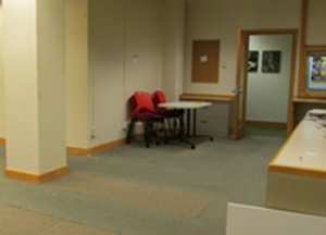 Production Studio Site in Burling Library