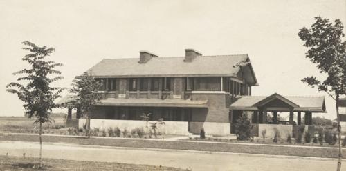 Ricker House circa 1912. Courtesy of E.M. Nicholls Collection, National Library of Australia.