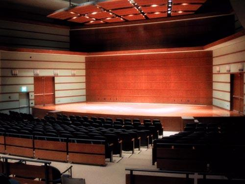 Sebring Lewis Hall in Bucksbaum Center for the Arts