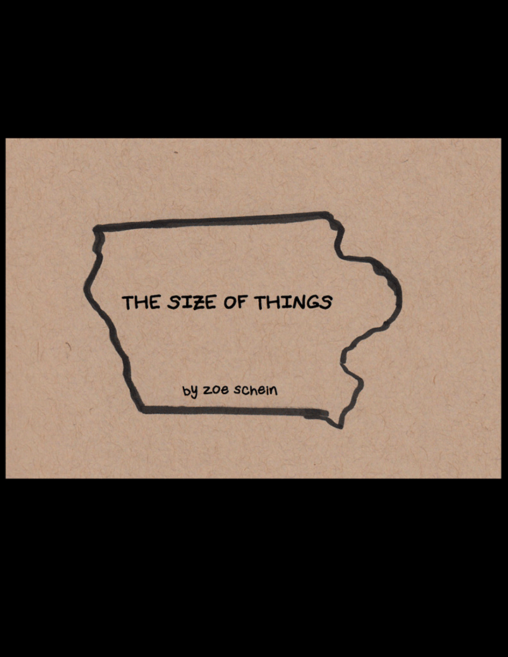 The Size of Things by Zoe Schein