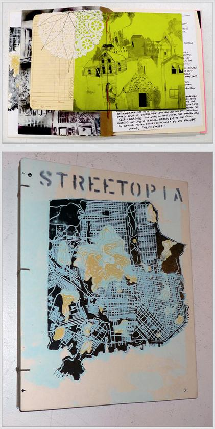 Chris Johanson and Barry McGee, Streetopia (the book), artists' book, 2011