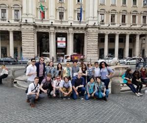 Global Learning Program touring Rome spring break