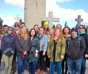 Glasnevin Cemetery anthropology course travels spring break