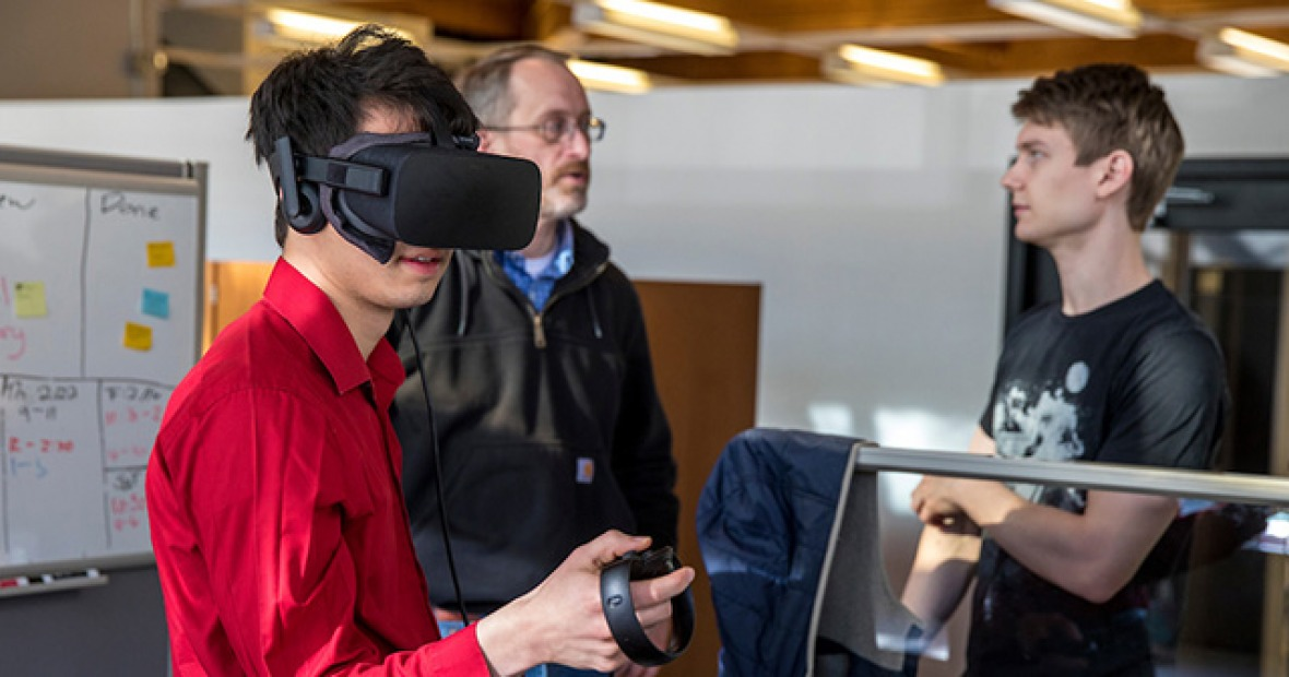 VR on campus