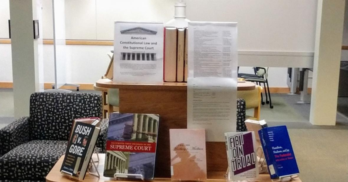 Law book display