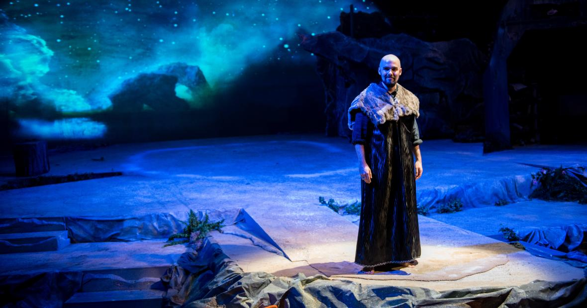 Matt Steege performs in the Tempest