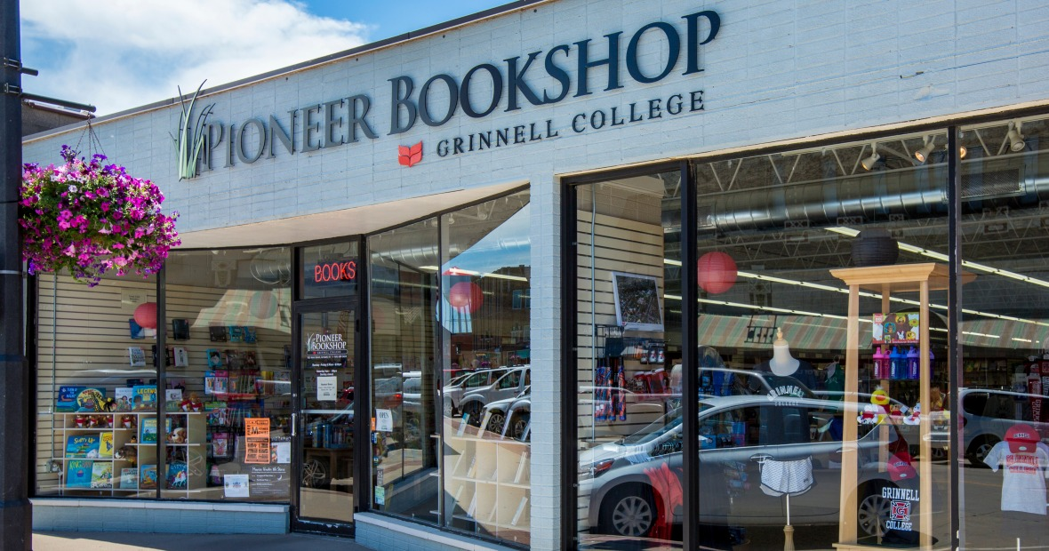 The store front of the Pioneer Bookshop
