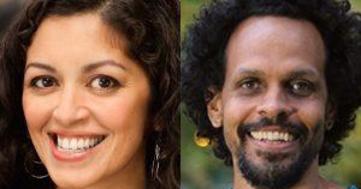 Aimee Nezhukumatathil and Ross Gay image