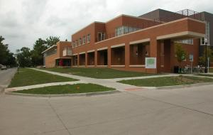 The Joe Rosenfield '25 Center viewed from the Southeast