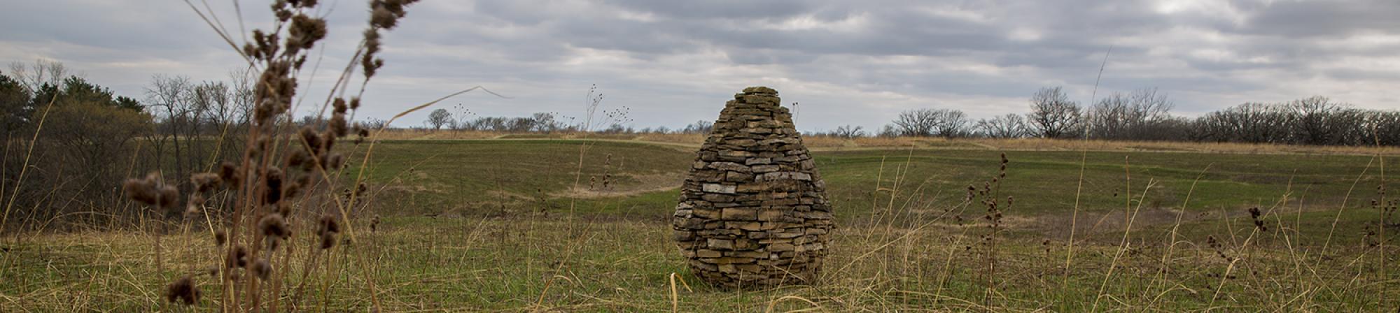 Prairie Cairn