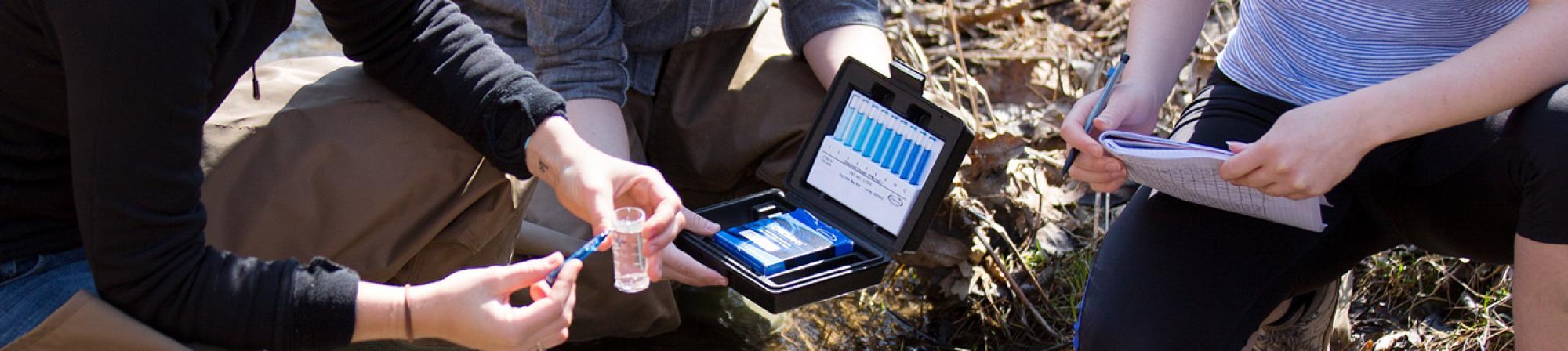 Biology - water sample testing