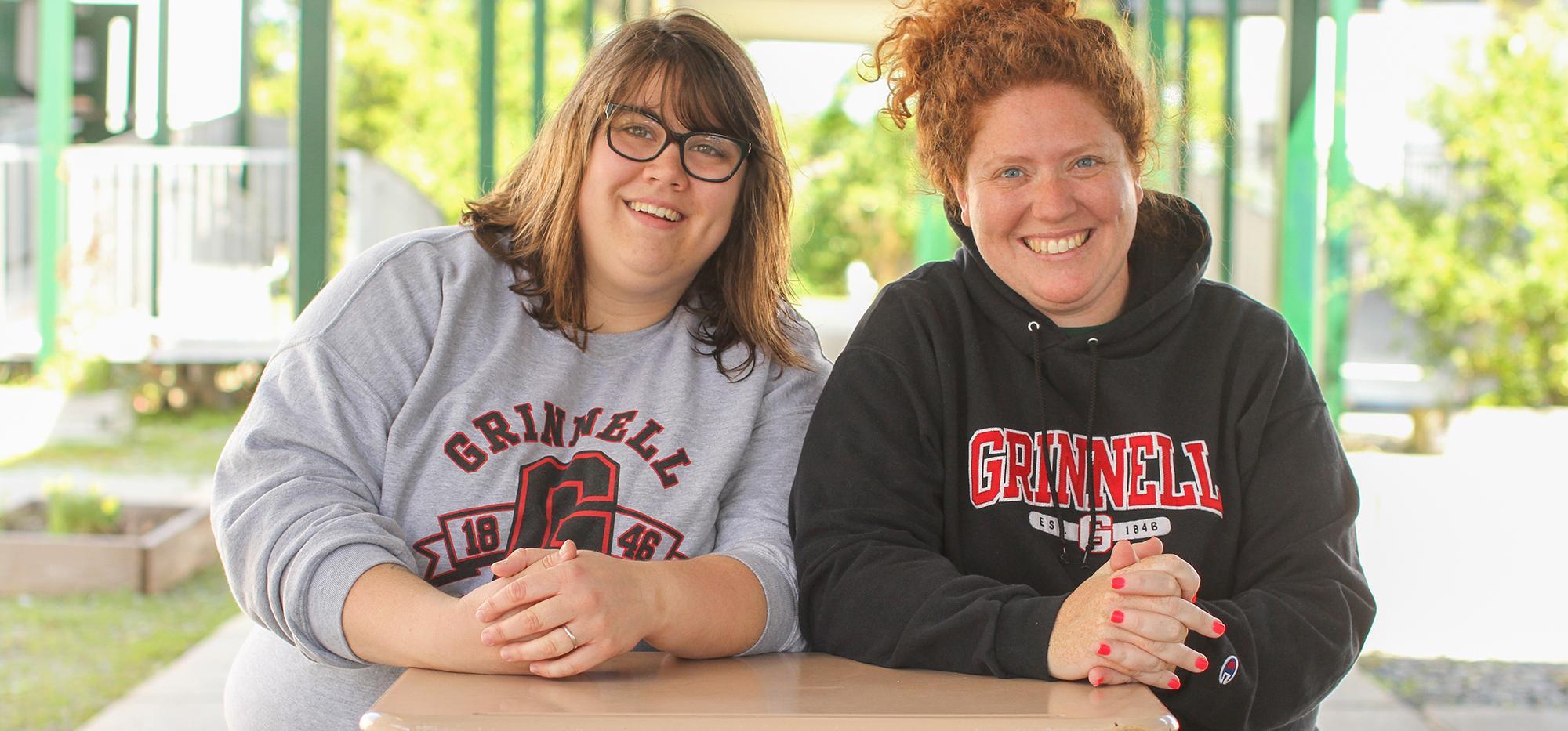 Margie Scribner and Leah Krandel